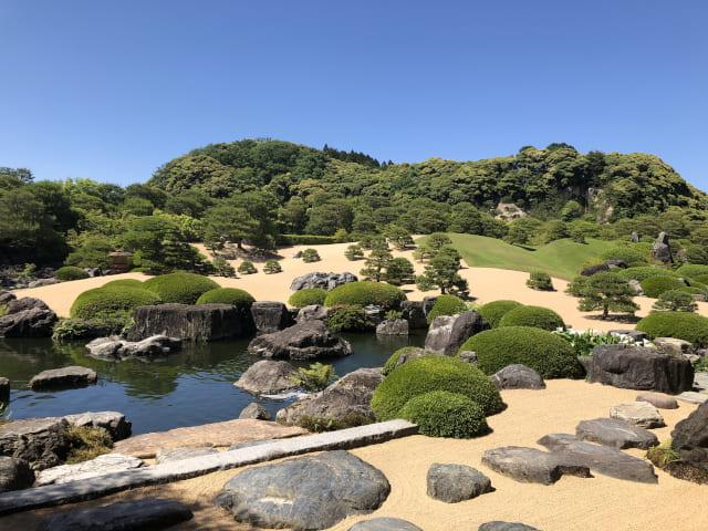 Jardin japonais du musée d'art Adachi